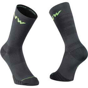 Northwave Extreme Pro Socks, black/lime fluo